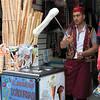 Ice cream vendor, Istanbul