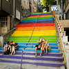 Staircase near Kabatas, Istanbul