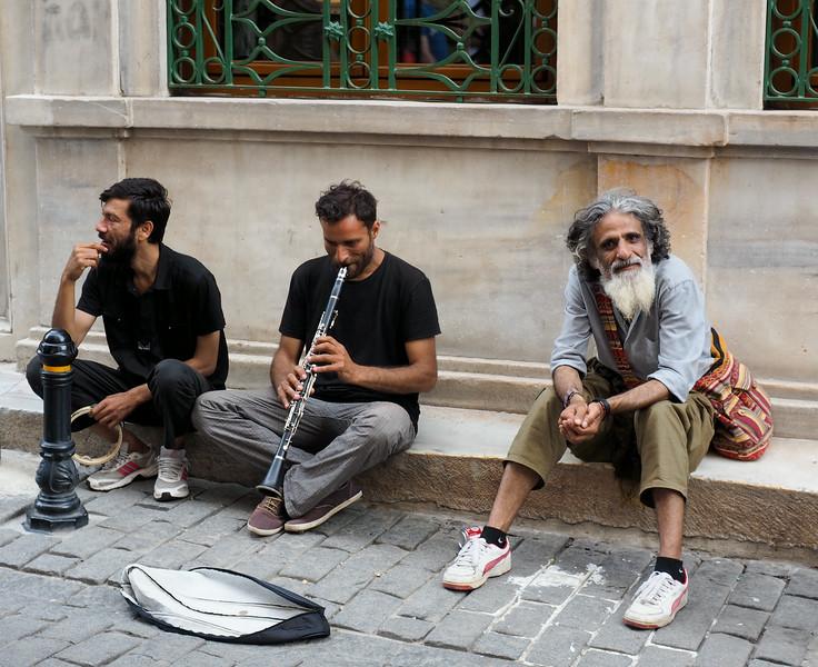 Street scene near Istiklal Street, Istanbul