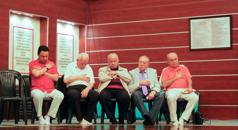 Elders at Dervish ceremony, Istanbul