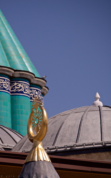 Mausoleum of Mevlana in Konya 4