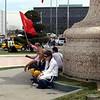 Protesters in the Taksim Square