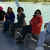 Our group en route to Akdamar Island, Lake Van