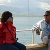 Our group en route to Akdamar Island, Lake Van