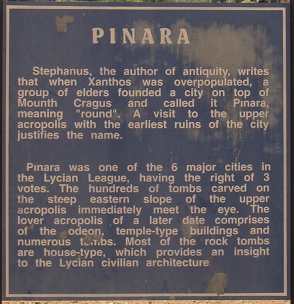 Day 6 - Pinara ruined town.