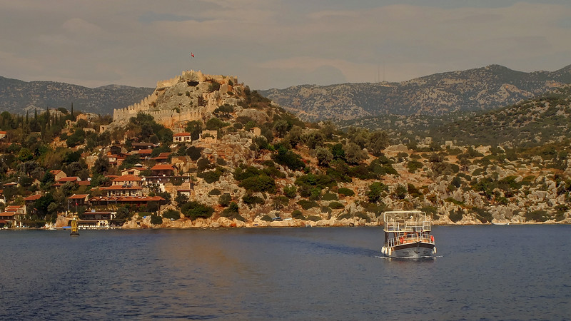 Day 10 - Onto the water now and a short sail over to Kekova Island to see the sunken city there.