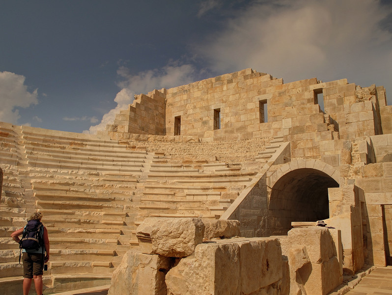 Day 7 - The theatre at Patara.