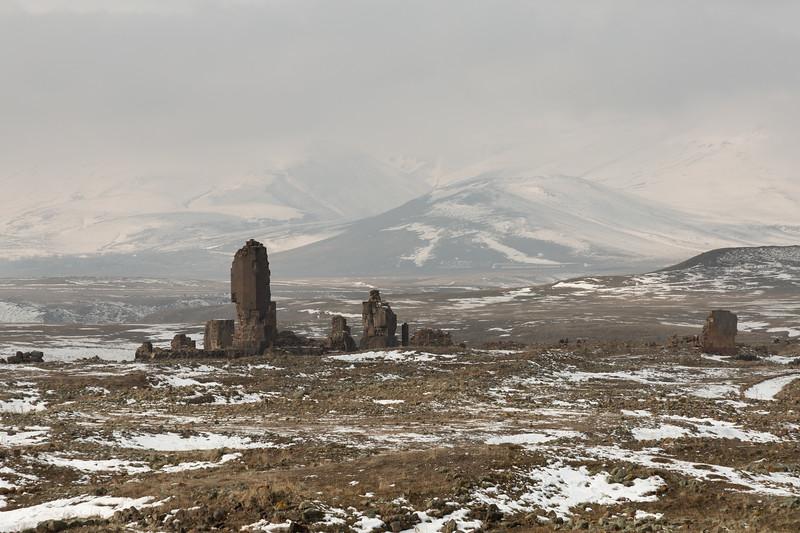 Ruins, Ani, Turkey