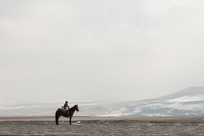 Alone, Ani, Turkey