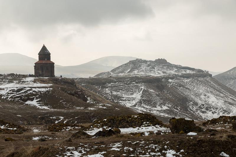 Church and citadel, Ani, Turkey