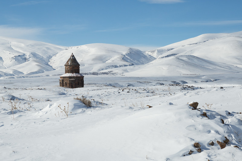 Church ruins, Ani, Turkey