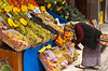 A street fruit and vegetable market in Ankara, Turkey, Eurasia.