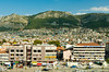 The modern city of Antakya at the site of the former city, Antioch on the Orontes river in Turkey, Eurasia.