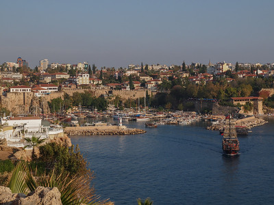 Antalya Old Town and Marina. Photo: Martin Bager.