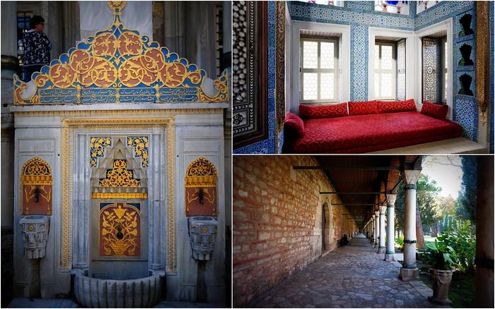 Topkapi Palace and the Harem, Istanbul, Turkey.