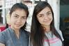 Lovely cousins at a road-side shop in Araç