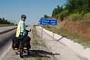 Reaching 1230 metres the day's highest elevation (between Safranbolu and Kastamonu)