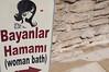 Emilie's first Turkish bath