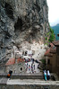 Entering the impressive (but crowded) Sumela Monastery