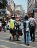 Entering Trabzon on a pedestrian street