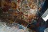 Frescoes inside Sumela Monastery's Rock Chapel
