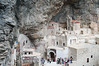 Sumela Monastery (built in the 4th century)