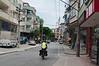 Entering Trabzon through back streets