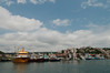 View from the ferry, along the Bosphorus Strait