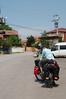 Leaving Anadolu Kavağı on the first day of riding