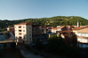 View from our hotel room in Yenice