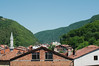 View from our room at Yenice's only hotel: Otel 78