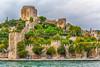 The Rumelihisarı Castle along the Bosphorus near Istanbul, Turkey.