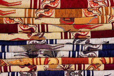 Colorful Kilims in a Cappadocia Shop