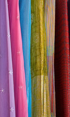Colorful Scarves in a Cappadocia Shop