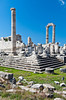 The archeological ruins of the Temple and Oracle of Apollo at Didyma in Didim, Turkey, Eurasia.