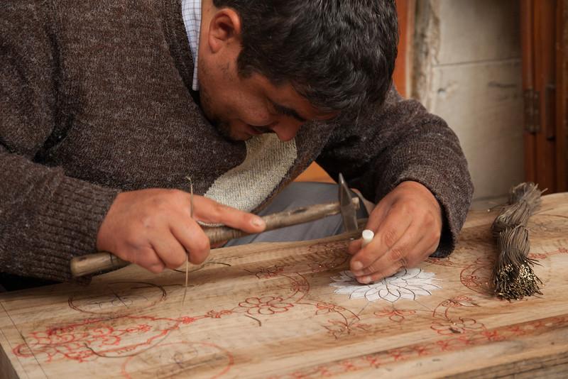 Inlay master, Gaziantep, Turkey