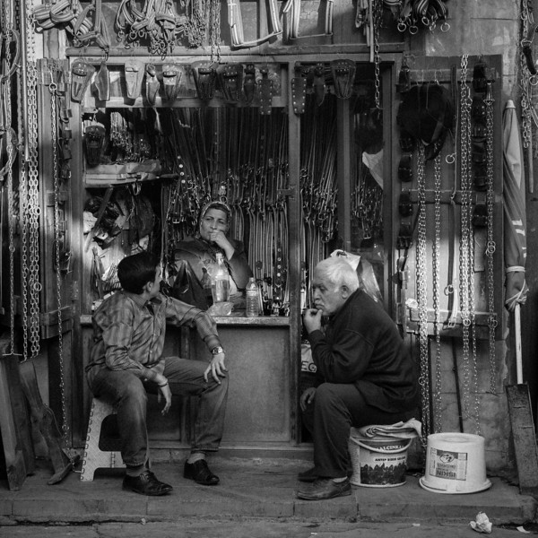 Waiting for customers, Gaziantep, Turkey