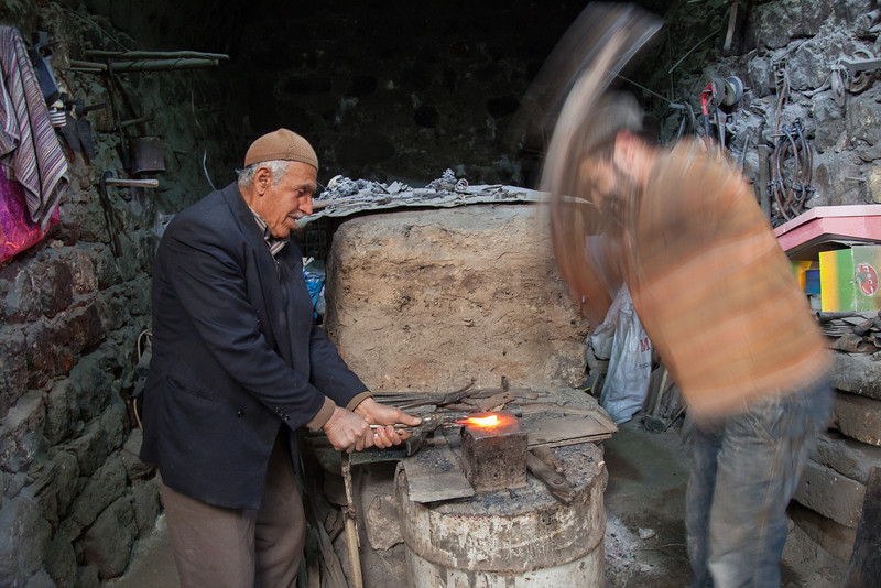 Blacksmith, Mardin, Turkey