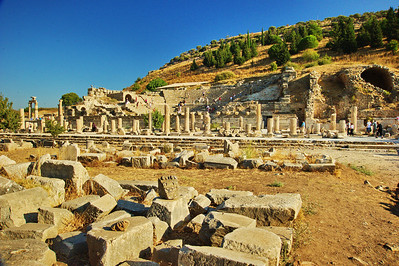 The State Agora...where Paul preached the gospel