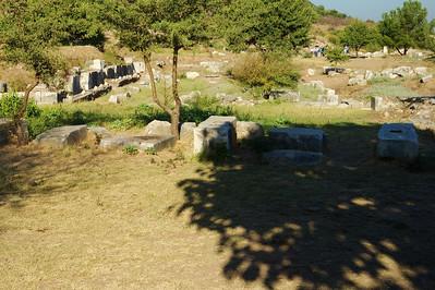 Inland entrance to Ephesus