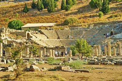 Odeion, meeting place for politics