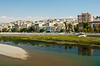 The town of Birecik on the Euphrates river in eastern Turkey, Asia Minor.