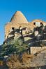 Beehive shaped mud brick homes in Harran, Turkey, Asia Minor.