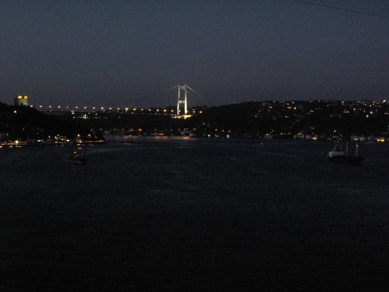 2nd Bosphorus Bridge from CGR