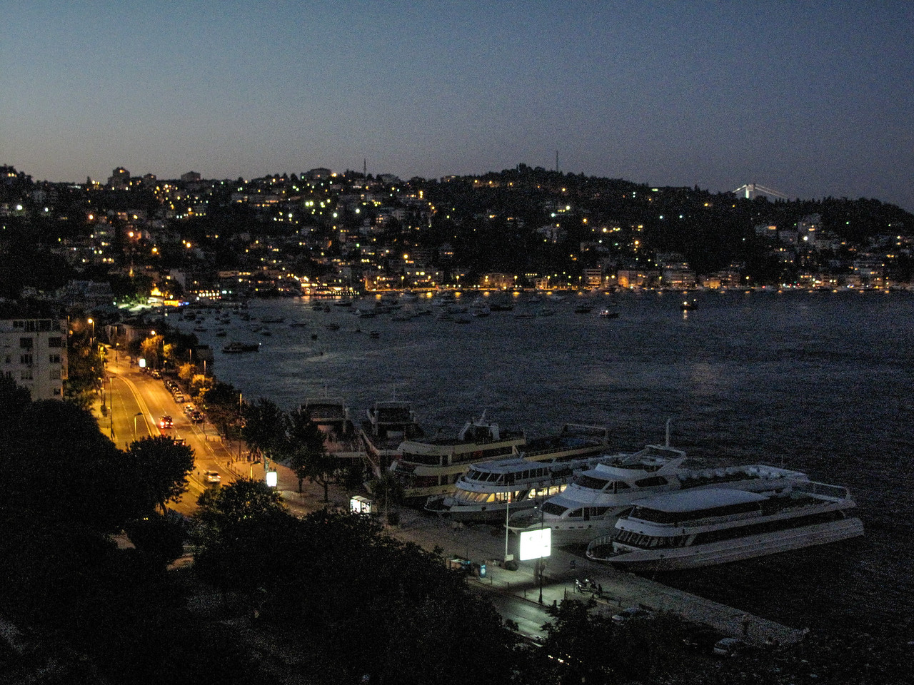 Bay of Bebek from CGR