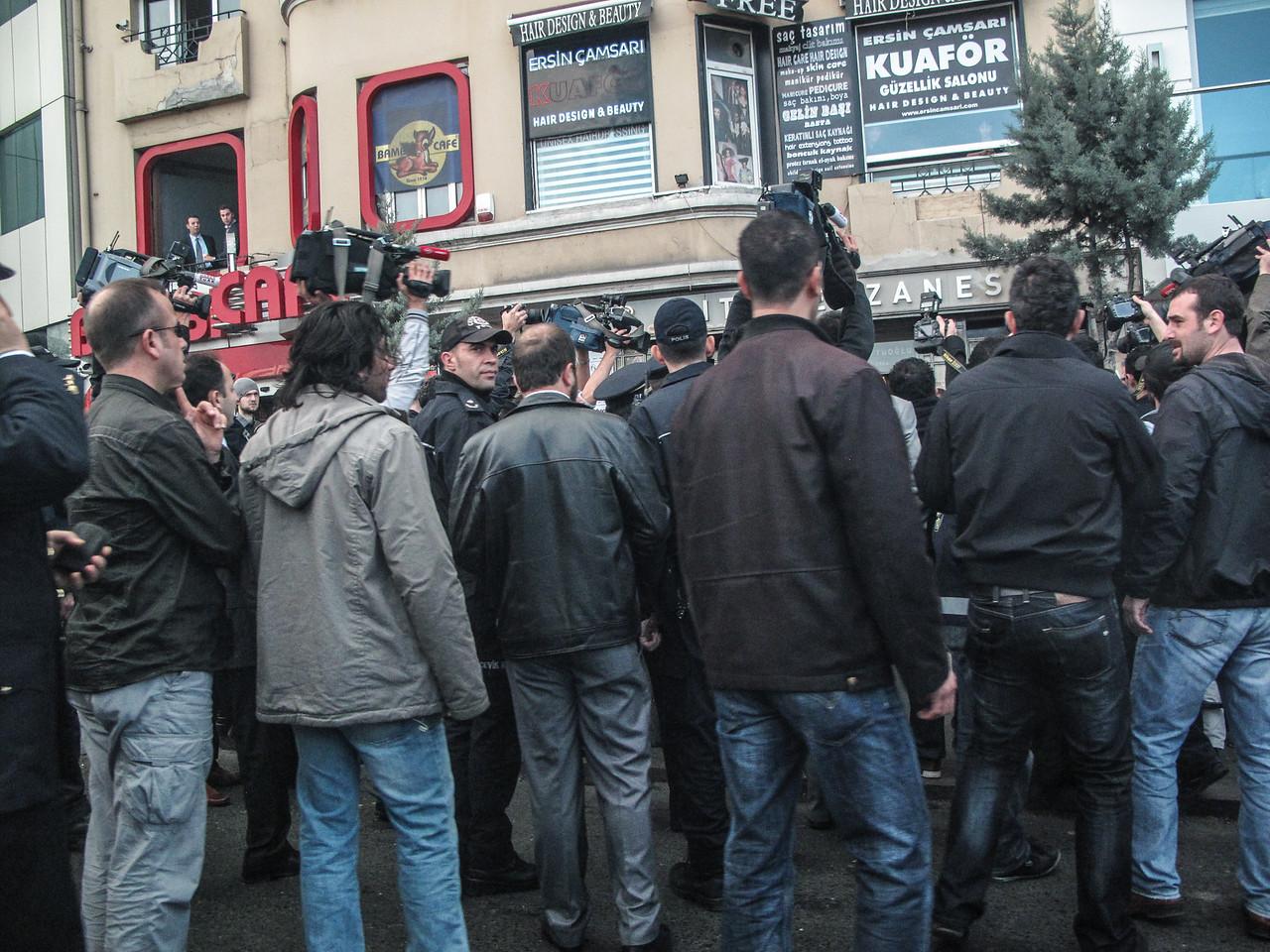 Kurdish Protest at Taksim