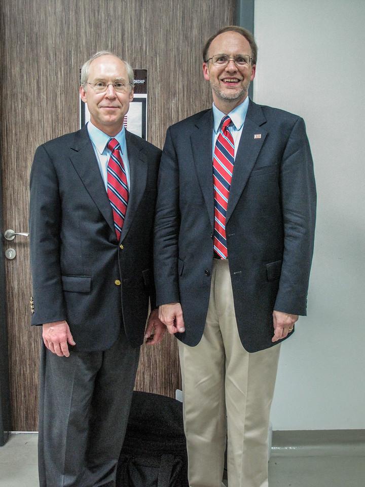 Scott and DCM Doug Silliman