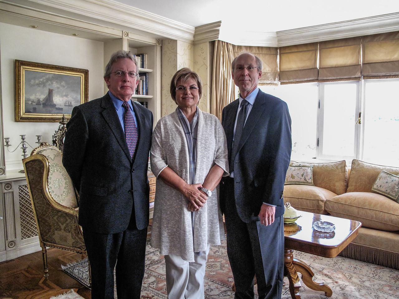 Tansu Çiller at Home (PolCouns Dan O'Grady & SK)