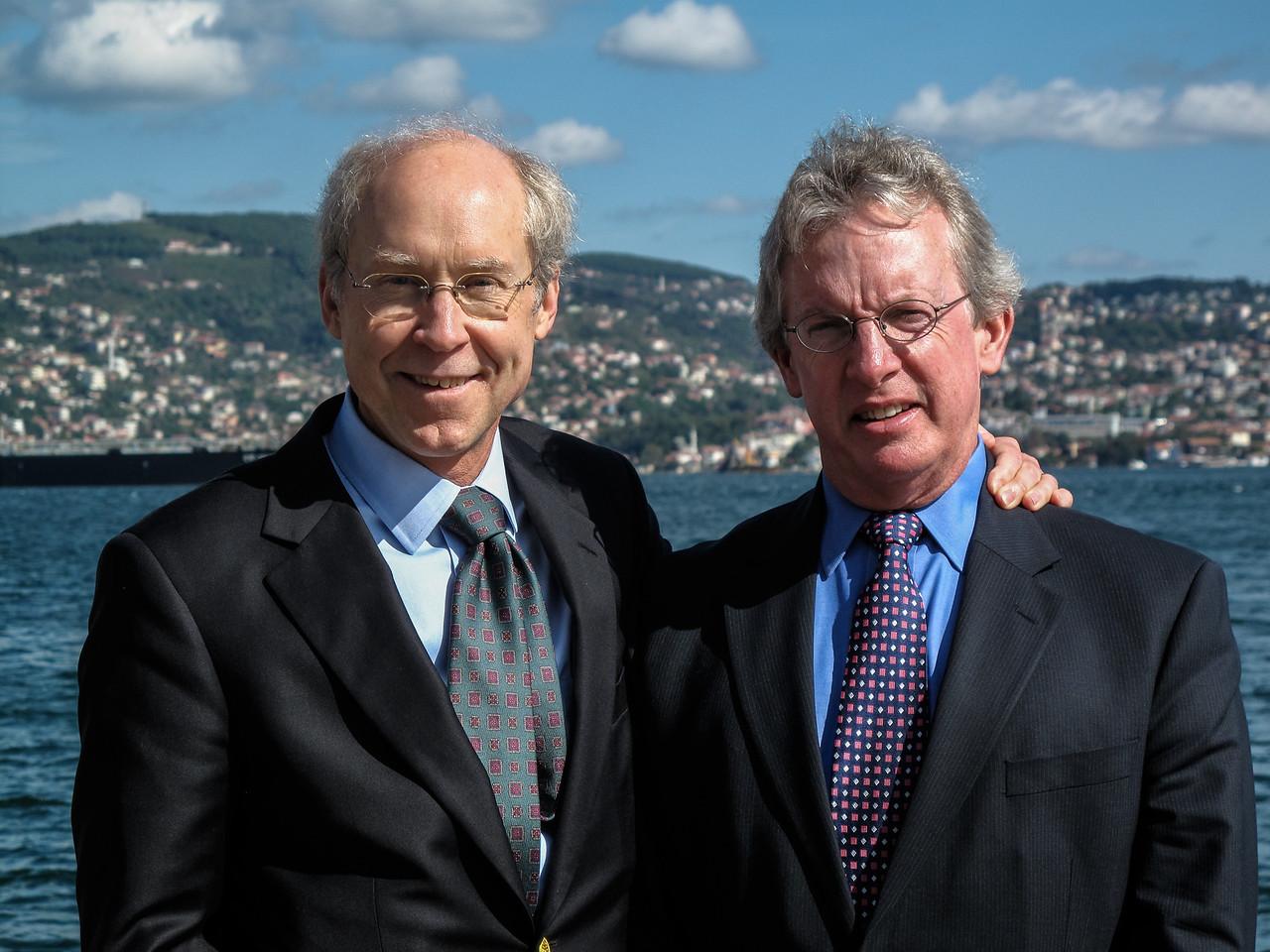 SK & Dan O'Grady at Yenikoy