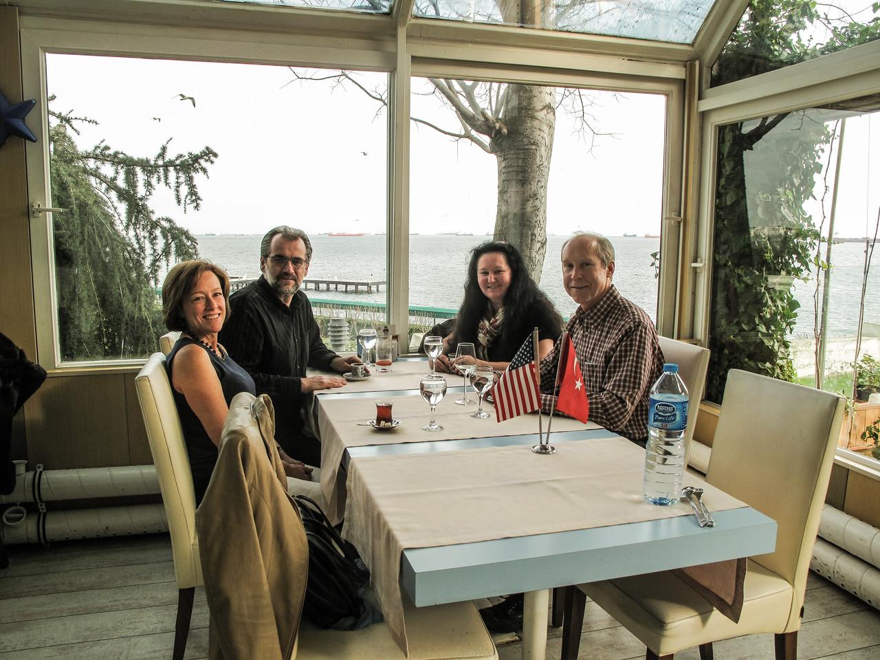 Lunch with Leo & Güdrün Stollwitzer